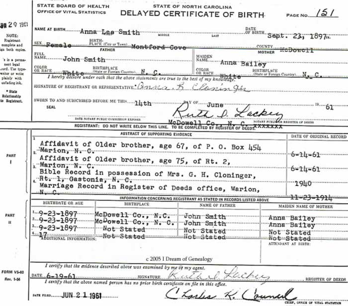 online birth records